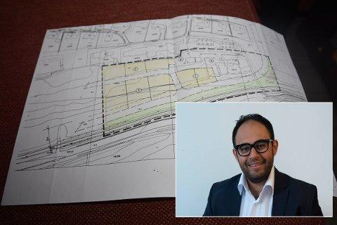 REAGERTE: fagleder for samfunn og innovasjon i Næringsforeningen i Drammensregionen, Adnan Afzal, reagerte da han leste at områder i Øvre Eiker vurderes tilbakeført til LNF områder.