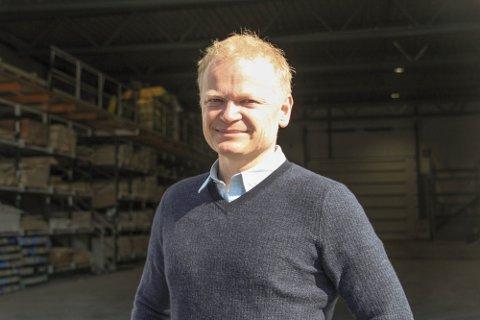 SOLGT: Med tungt hjerte har Bjørn Ivar Haugen solgt Maxbo Ivar O Haugen i Hokksund til Løvenskiold-Vækerø AS – som driver Maxbo-kjeden.