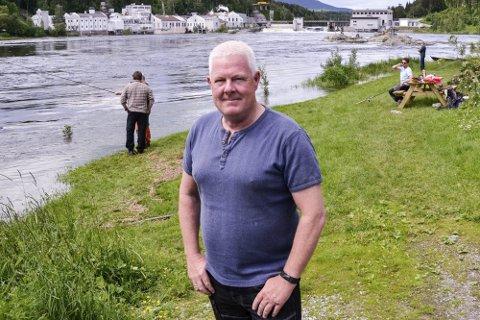 AVLYSER: Med tungt hjerte avlyser leder for festivalen og lakseutvalget i Østsiden jeger og fiskerforening, Geir Nyhus, laksefestivalen.