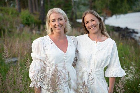 Ellen Dahl fra Hokksund og Nicole Bekkeseth fra Drammen starter eget klesmerke sammen. - Vi er veldig spente, sier gründerne til Eikerbladet.
