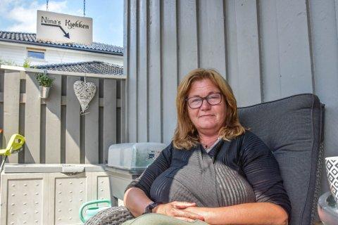 STØTTE: Nina Hansen driver Ninas Kjøkken og er en av tolv som fikk krisestøtte fra kommunen.