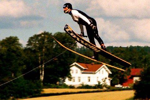 Robert Halvorsen under Norway Jump Challenge i 2001