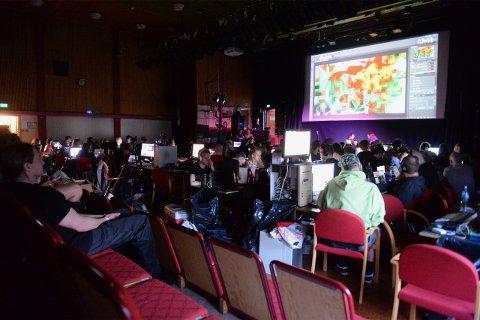Teknologi: Her samles alle de med interesse og lidenskap for demoscenen.
