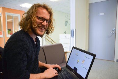 Jardar Solli lager workshop i spillutvikling.