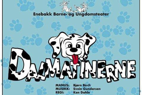 KLARE FOR NY OPPSETNING: EBU viser Dalmatinerne på Flateby samfunnshus fra 23. november til 2. desember.