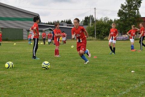 Fra en  tidligere EIF fotballskole på Enebakk stadion i Kirkebygda.