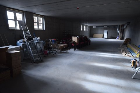 I kjelleren på Ignarbakke er det planer om å lage skytebane.