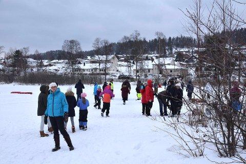 Fra en tidligere vinteraktivitetsdag på Våg.