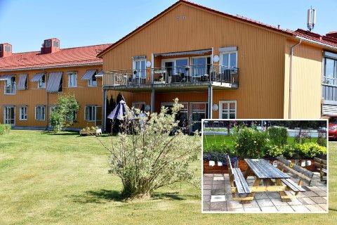 Enebakk Lions Club ønsker å oppføre en sittegruppe utenfor boligene på Ignatun og Ignagard.