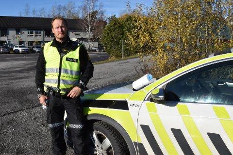 Rune Dahl, politioverbetjent i UP.