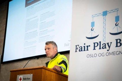 Lars Mamen er daglig leder i Fair Play Bygg- Oslo og omegn.
