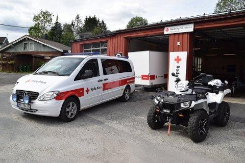 Rolig sommer: Enebakk Røde Kors Hjelpekorps bistår i blant annet søk og redningsaksjoner.
