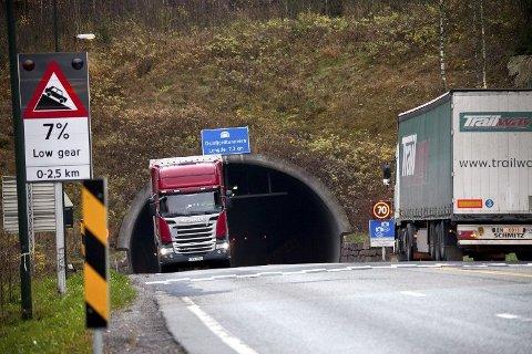 OFTE STENGT: Oslofjordtunnelen er ofte stengt. I mange tilfeller er det planlagte stengninger hvor Statens vegvesen har oppgaver som skal gjøres.