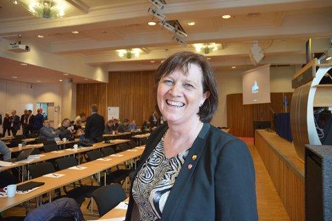 GIR SEG: Kristina Hansen gir seg i politikken.