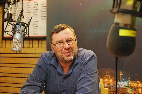 NORGE RUNDT: Fredag kveld handler et av innslagene i Norge Rundt om Raymond Elde i Radio Nordkapp.