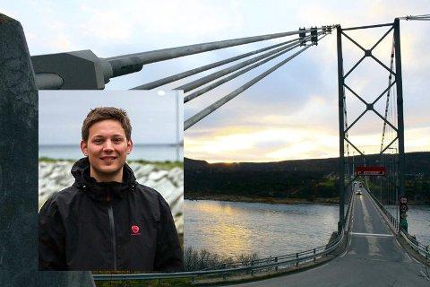 Sigurd Rafalelsen, ordfører i Lebesby kommune og Formannskapet i Lebesby kommune, ønsker strekningen Tana- Lakselv opphøyd til Europavei.