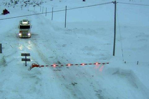 Det har vært mange dager med stengt veie for befolkningen i Nordkapp i den siste perioden.