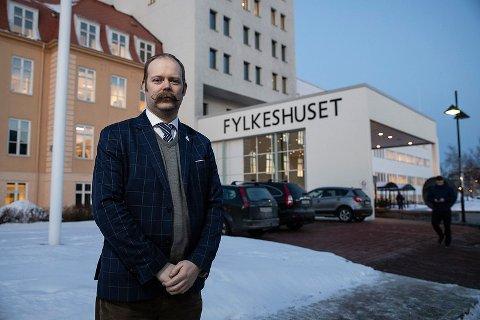 Fylkesråd for utdanning Bjarne Rohde