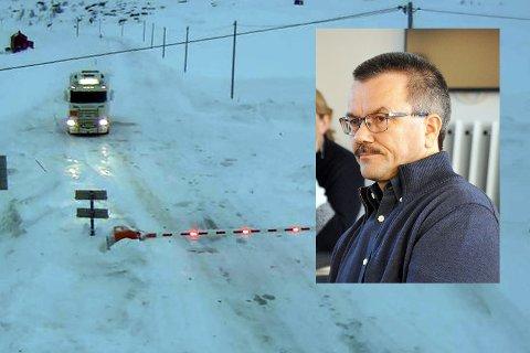 Oddbjørn Samuelsen oppfordrer næringslivet til å komme med innspill til Statens Vegvesen i forkant av ny kontraktsperiode på vintervedlikeholdet.