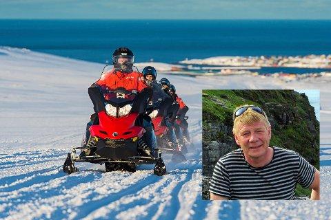 Daglig leder i Arctic Coast AS , Jan Olav Evensen, er bekymret for at  frykten for koronaviruset kan få økonomiske konsekvenser for både små og store reiselivsaktører.