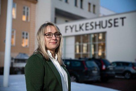 Fylkesråd for næring og miljø Karin Eriksen (Sp).