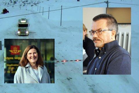 Oddbjørn Samuelsen har fått svar fra vegsjefen Ingrid Dalh Hovland.