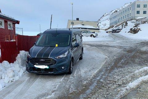 Da Andersen flyttet bilen for å gi plass for snørydding, fikk han bot.