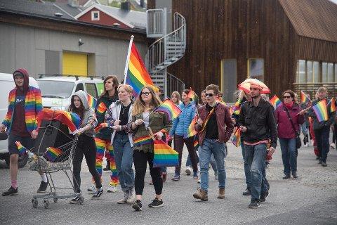 For andre året på rad feires PRIDE i Kjøllefjord.