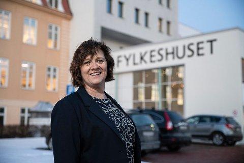 Fylkesråd for samferdsel Kristina Hansen (Ap) i Troms og Finnmark fylkeskommune.
