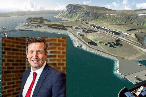 Kjell Giæver, daglig leder i Petro Arctic.