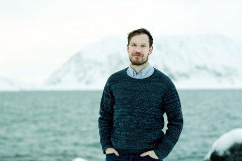 SELVGJORT: Tommy Gamst Vitikka savnet Finnmark, så da valgta han å flytte hjem fra Oslo for å starte noe eget.