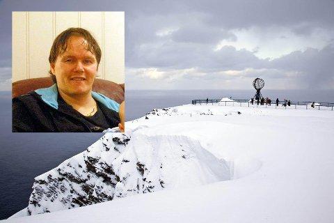 Bengt Hansen-Seljebu ønsker å sette opp et servicebygg på Nordkapplatået.