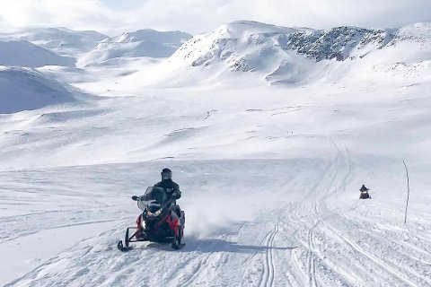 SNART: I slutten av neste uke kan det bli mulig å kjøre snøscooter også på Magerøya. (illustrasjonsfoto)