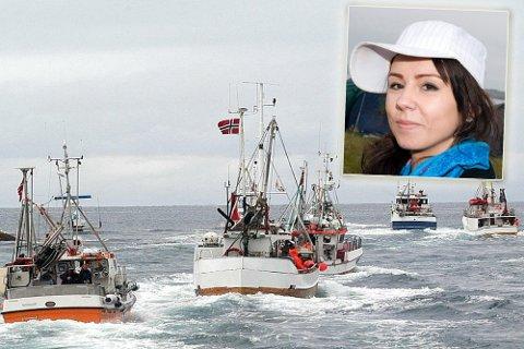 Emma Ingebrigtsen (Ikke på bildet) og Sara Andersen Eira skal gi innspill til likestillingstrategien for fiskere.