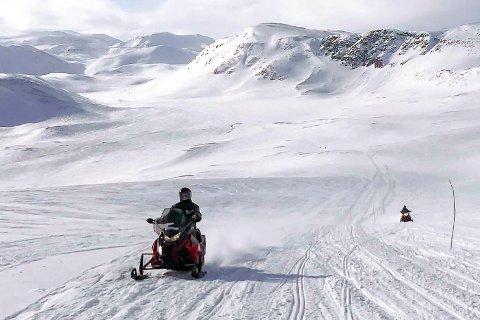 NY FORSKRIFT: Nordkapp kommune har utarbeidet nye forskrifter for scooterkjøring i kommunen