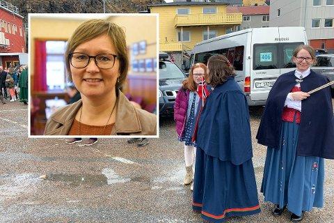 ØNSKER INNSPILL: Heidi Holmgren inviterer til møte på vegne av Nordkapp kommune.