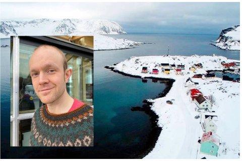 BEKYMRING: Nordkapp fiskarlag og leder Raymond Karlsen frykter at den nye fiskerihavna i Bullvika i Kamøyvær, ikke blir trygg, og har bedt kommunen om mer informasjon.