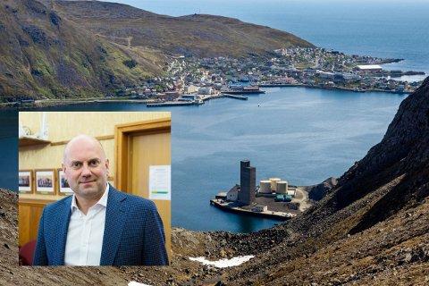REVISJON: Senterpartiet og Hugo Salamonsen vil at kommunenes kontrollutvalg skal gjennomføre en forvaltningsrevisjon av datterselskapene til Nordkappregionen Havns IKS.