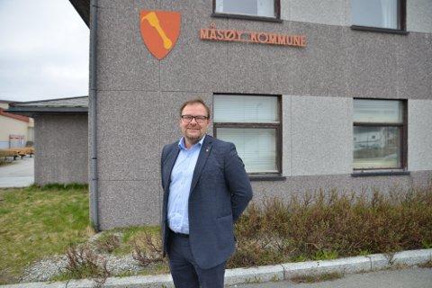 NY JOBB: Odd-Børge Pedersen har vært kommunedirektør i Måsøy i to år. Nå kan han være på vei bort.