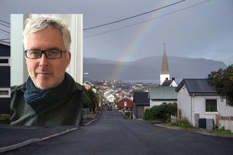 TIL OSLO: Etter to år som kirkeverge, slutter Arnfinn Rognmo i Lebesby for å bli kirkeverge i Oslo.