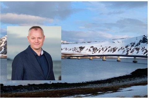 Veidnes i Nordkapp var ett av alternativene for byggingen av en av verdens største ammoniakkfabrikker, men administrerende direktør i Horisont Energi AS, Bjørgulf Haukelidsæter Eidesen, har valgt Hammerfest.