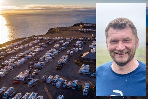 TOK FEIL: Nordkapp Høyre og leder Dan Nilsen, innrømmer at det ser ut til at partiet har tatt feil i saken om parkering på Nordkapp.