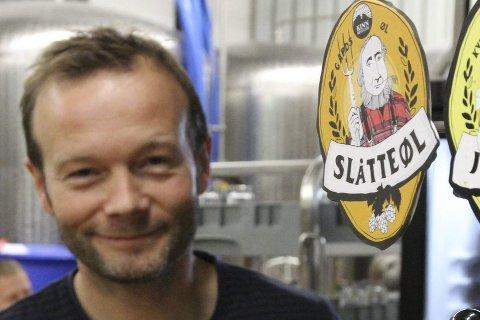 Bryggerimeister Espen Lothe kan gle seg over nok eit år, der øla han lagar vinn fotfeste over store delar av landet.