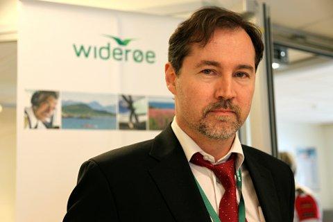 Richard kongsteien, kommunikasjonsdirektør i Widerøe