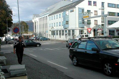 I denne gata foregår det no gravearbeid i samband med avsluttinga av Kinnvegen-renoveringa.