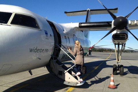 iNGEN FØREMIDDAGSFLY: To flygingar mellom Oslo og Florø er innstilte torsdag.