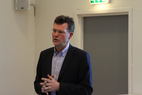 Direktør Ivar Fossum i Nordic Mining. Foto: Liv Standal