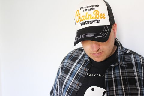 Tomas Dahl, som er artisten Caddy.