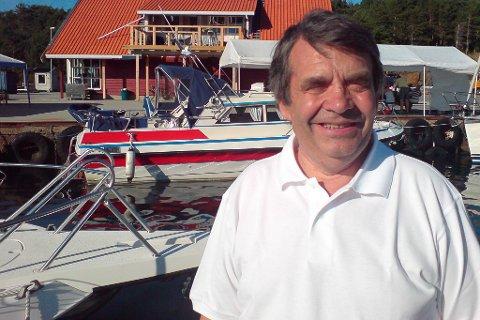Ole Svanøe gler seg over vellykka Veiking-besøk.