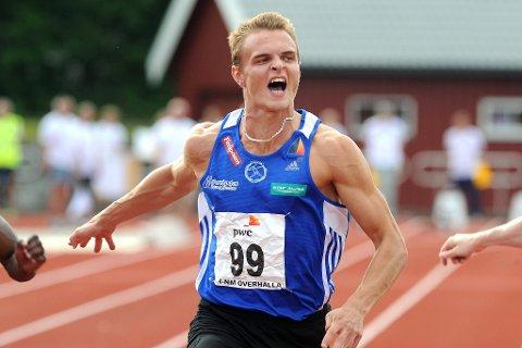 NM friidrett 2013 for jr. Øyvind Strømmen Kjerpeset. (Foto: Terje Pedersen, ANB)